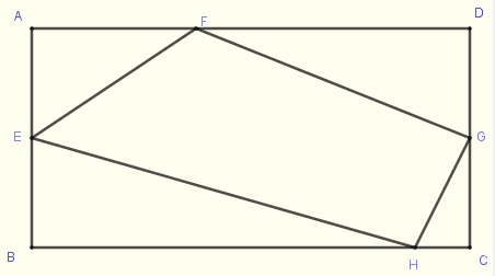rectangle and quadrilateral in problem 6