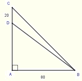 triangle in problem 2