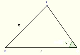 triangle in problem 3
