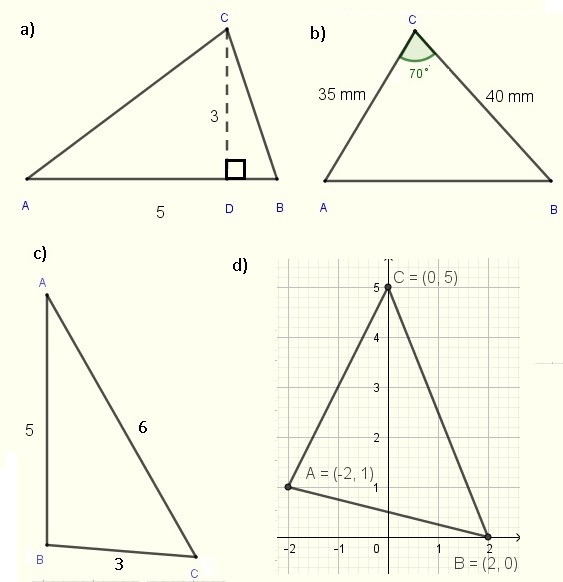 triangles in problem 1