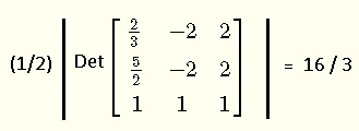 formula for area using vertices problem 7