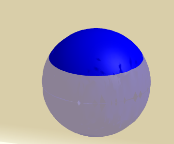 spherical cap as portion of a sphere