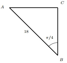 right triangle question 6
