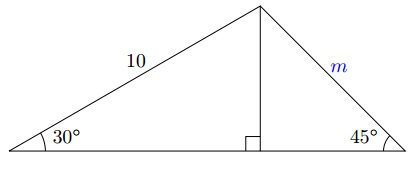right triangle question 13