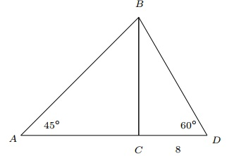 right triangle question 9