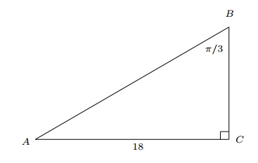 right triangle question 10